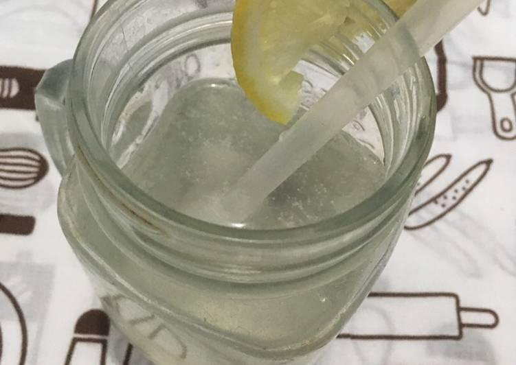 Lemon soda dingin