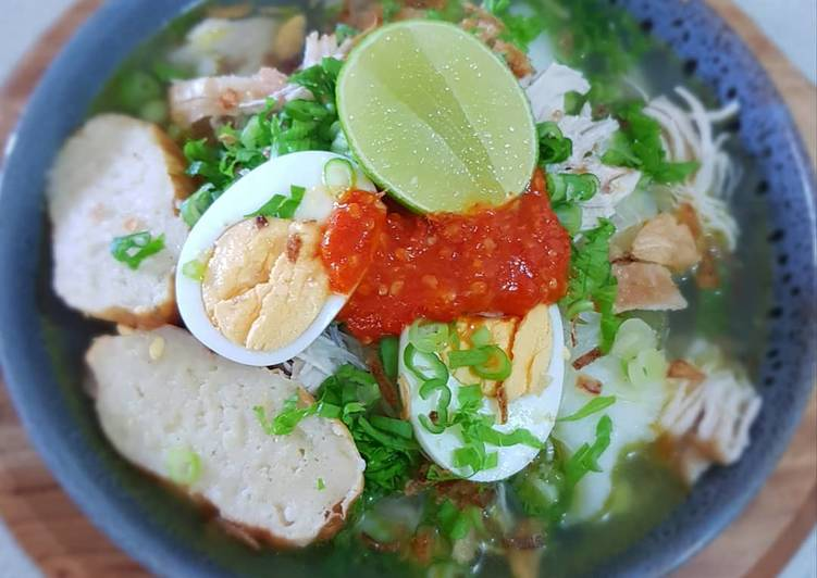 The Easiest and Tips for Beginner SOTO BANJAR (Chicken and Vermicelli Soup)