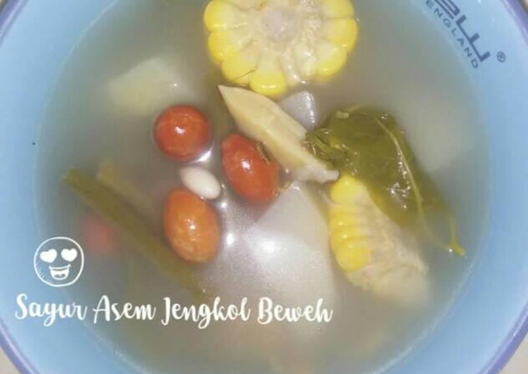 Sayur Asem Jengkol Beweh