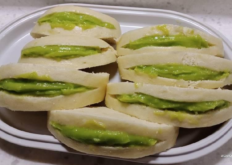 Resep Roti kukus srikaya pandan (bakpao) Paling Mudah