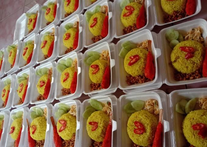 Nasi Kuning catering
