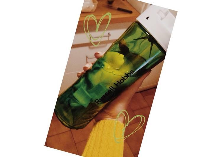 Smoothie Verde depurativo. Fácil, saludable y buenísimo