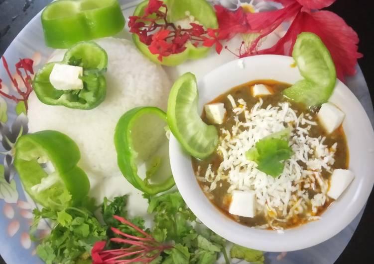 Recipe of Homemade Palak Paneer