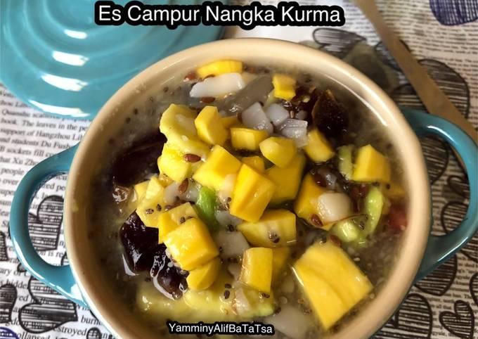 Resep Es Campur Nangka Kurma