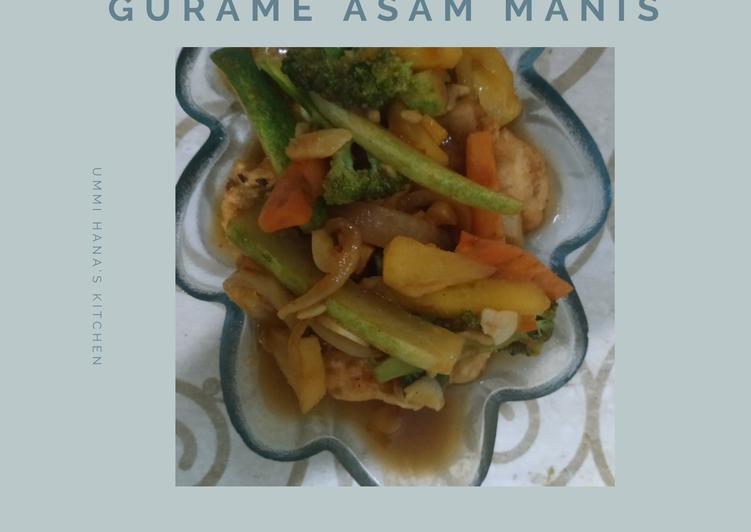 Gurame Asam Manis - cookandrecipe.com