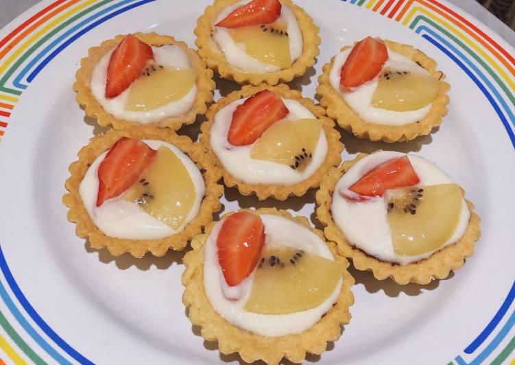 Resep Mini Fruit Tart, Menggugah Selera