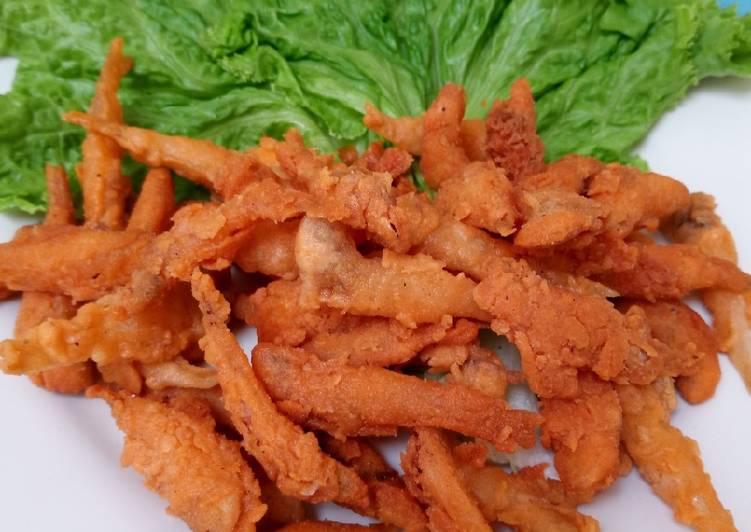 Resep Wader Goreng Crispy Oleh Iftitah Kurniasari Cookpad
