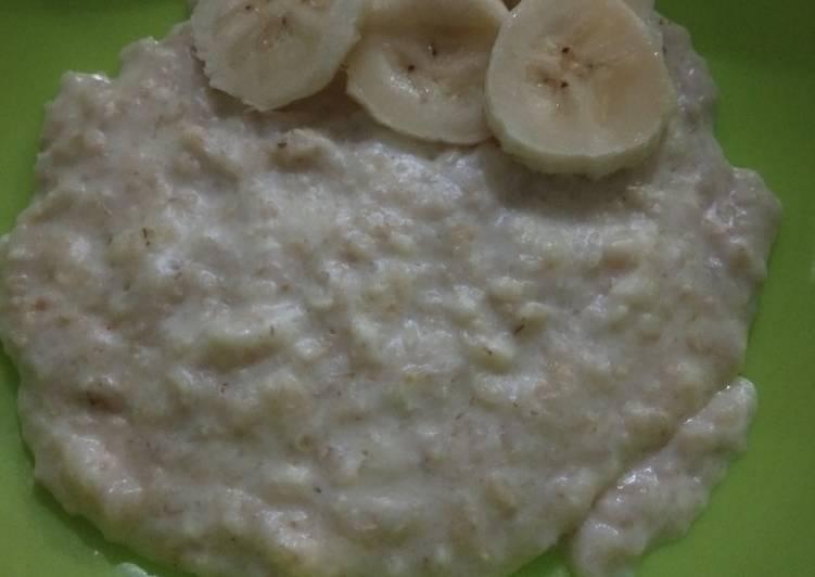 Oatmeal mix Banana mpasi 9m