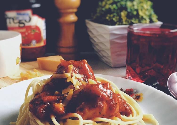 Spaghetti Meatballs Bolognese #phopbylinimohd #task3