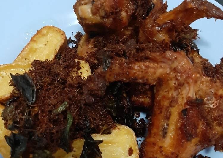 Recipe of Homemade Galangal fried chicken