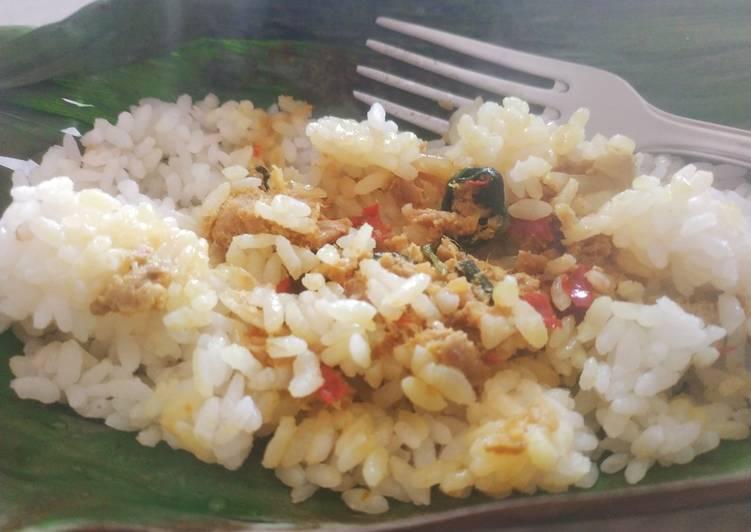 Nasi Bakar Tuna