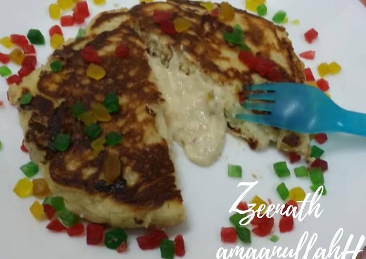Hotteok-Korean Sweet Pancakes with an Indian twist