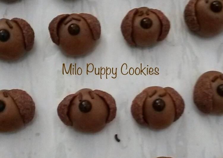 Milo Puppy Cookies