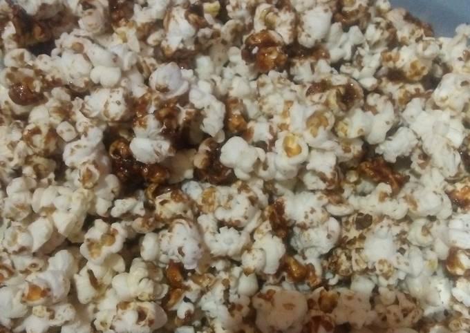 Langkah Mudah Membuat Popcorn Caramel, Lezat