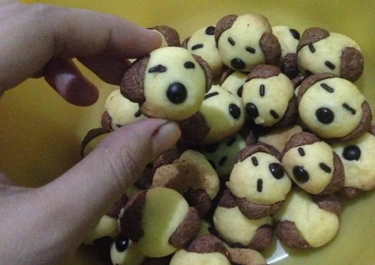 Cookies teflon karakter anjing