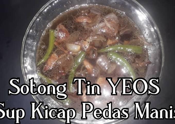 Sotong Tin YEOS Sup Kicap Pedas Manis