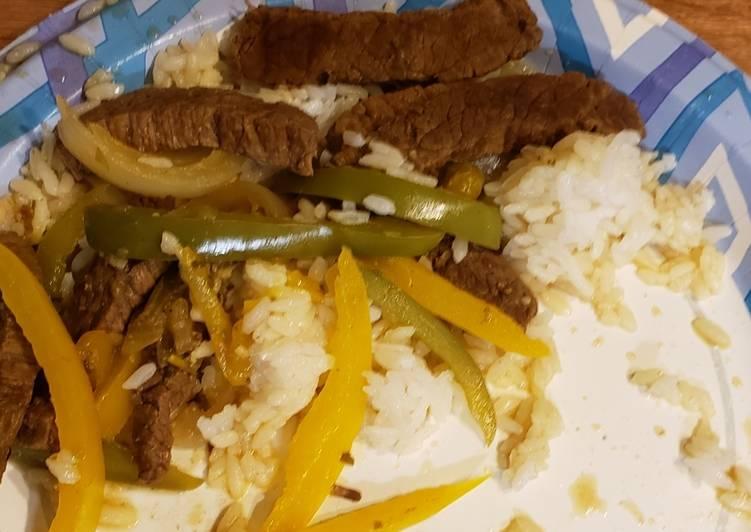Friday Fresh Pepper steak / beef pepper steak