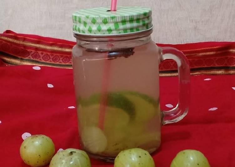Amla detox drink (winter special detox)