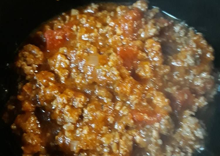 Recipe: Appetizing Sausage Chili Sauce