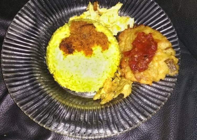 Nasi Kuning dgn Rice Cooker - cookandrecipe.com