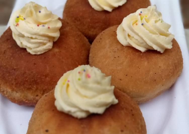 Recipe of Speedy Coated filled doughnuts