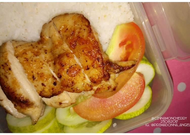Pan-Fried Chicken Legs (5 Ingredients)