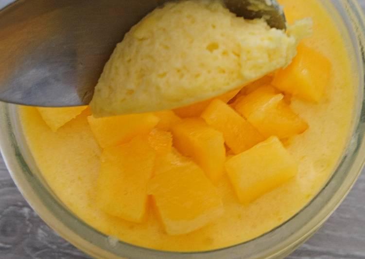 La Meilleur Recette De Mousse à la mangue express