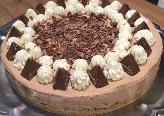 Cheesecake au toblerone