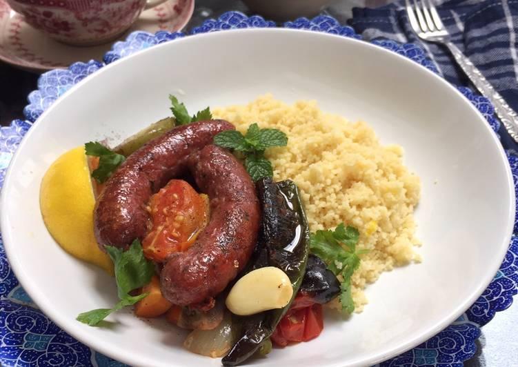 merguez-with-couscous