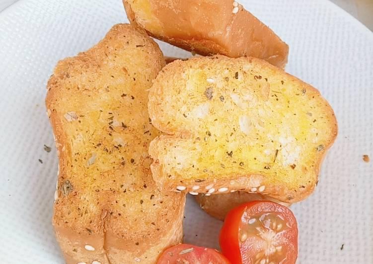 Garlic Bread Simple no Oven