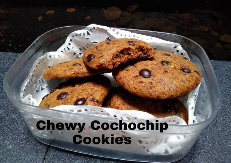 Chewy Cochochip Cookies