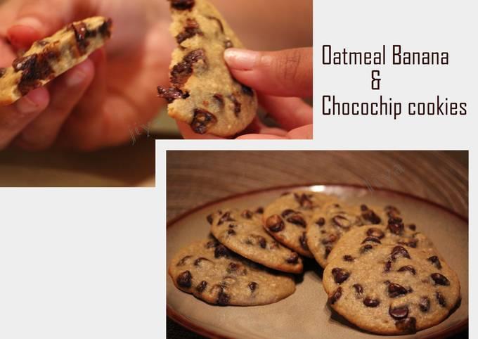 Tips Baker Good Oatmeal Banana chocochip Cookies