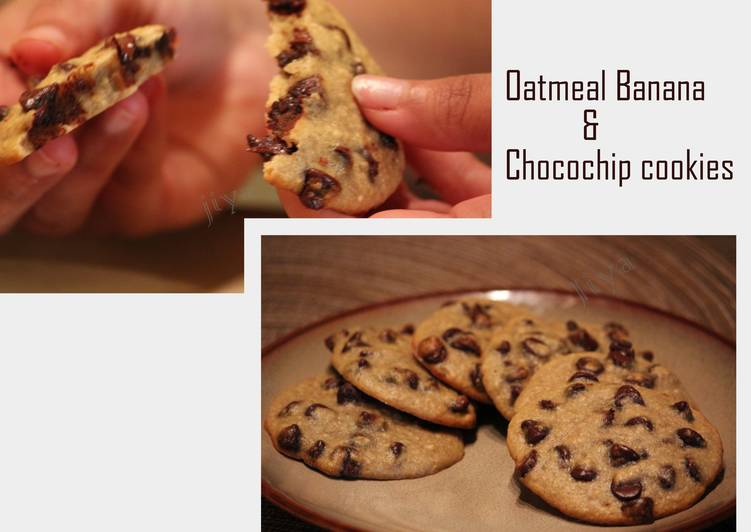 Oatmeal Banana chocochip Cookies