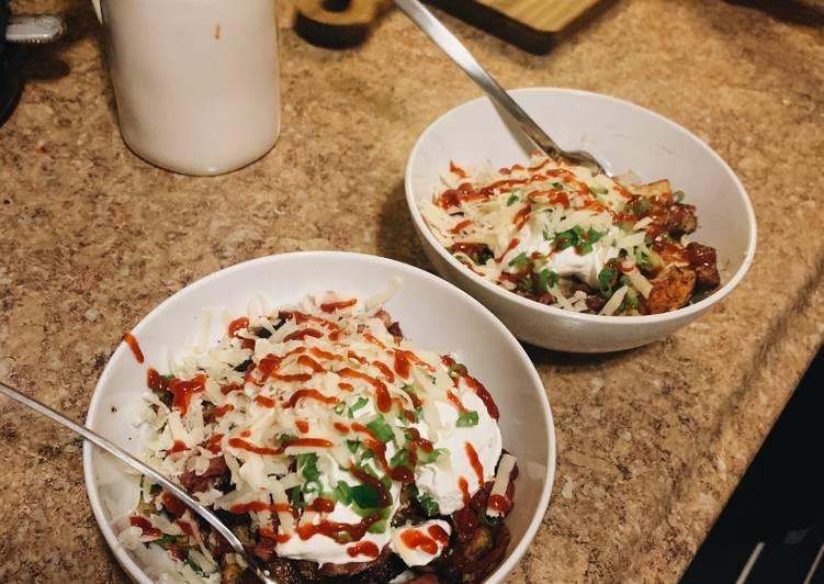 Recipe: Yummy Potato Bowl