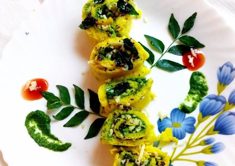 Consume These 14 Superfoods to Go Green for Great Health Dhokla swiss rolls