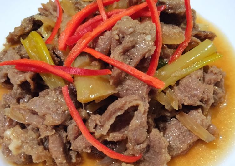 Beef Yakiniku Hoka Hoka Bento ala Nitayasari.recipes