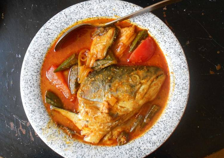 Steps to Prepare Homemade Fish Head Curry (Malaysia original style)