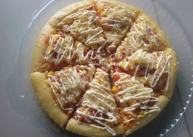 pizza oven tangkring foto resep utama Resep Indonesia CaraBiasa.com