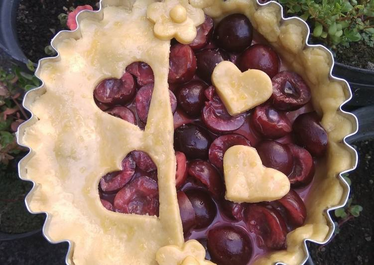 Resep Cherry Pie Enak