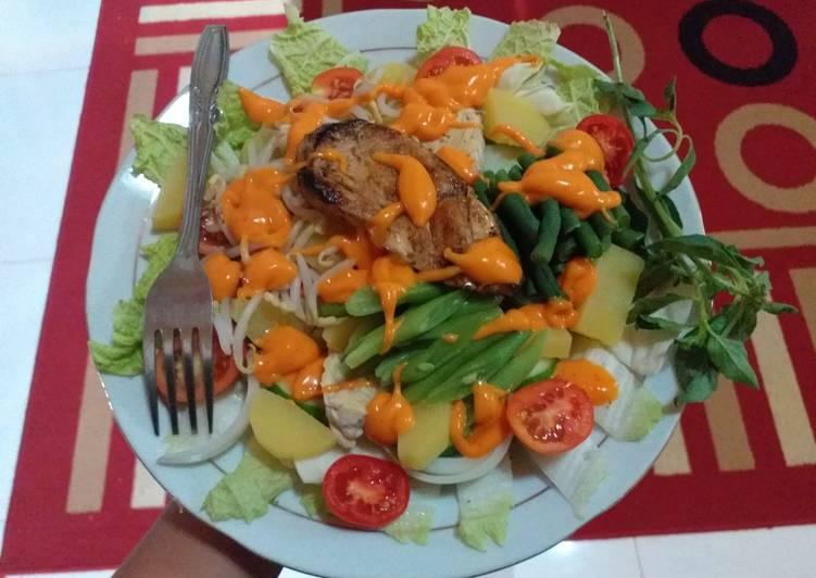 Salad Sayur Sehat no Salt no MSG