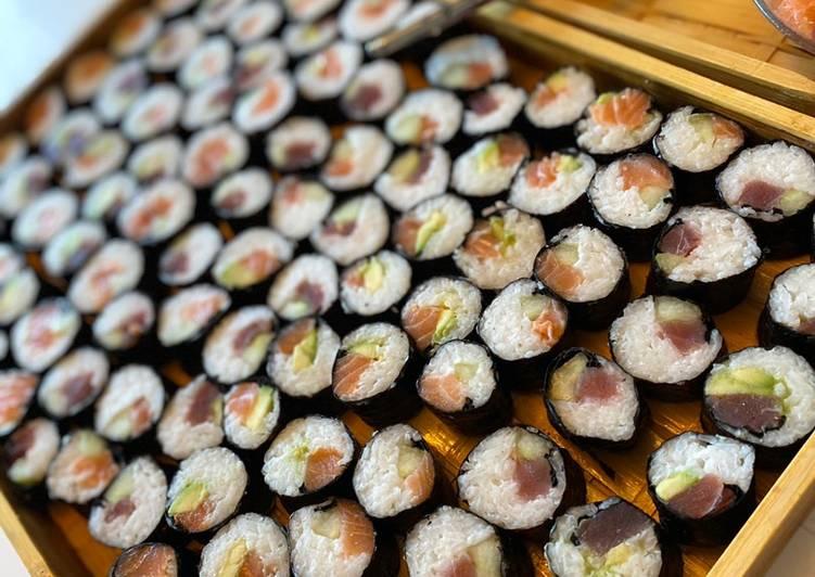 Comment Préparer Les 4• Maki et Sashimi