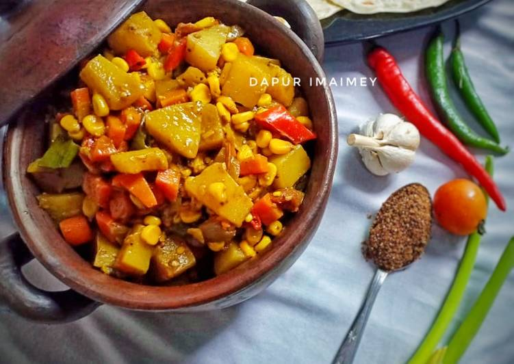 Resep Vegetable Curry (indian food) Yang Mudah Pasti Enak