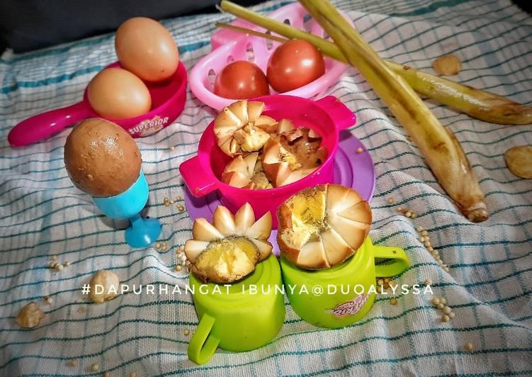 Bacem / pindang telur