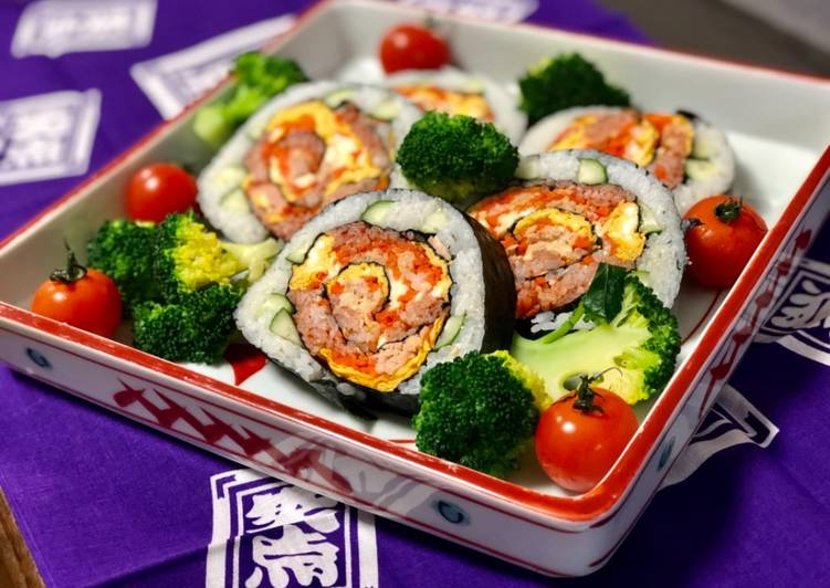 Recipe: Perfect Japanese Salad Roll Sushi 🌹