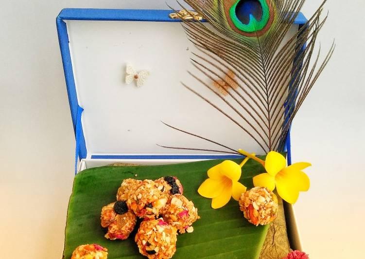 Simple Way to Prepare Perfect Sugar free Muesli Ladoo