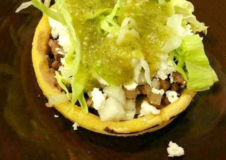Falafel Mexican Sopes