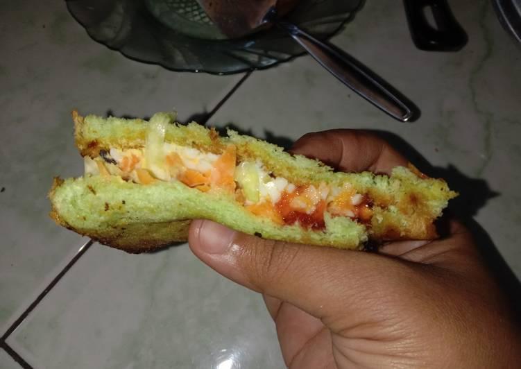 Resep Roti bakar ala Inkigayo sandwich Bikin Laper