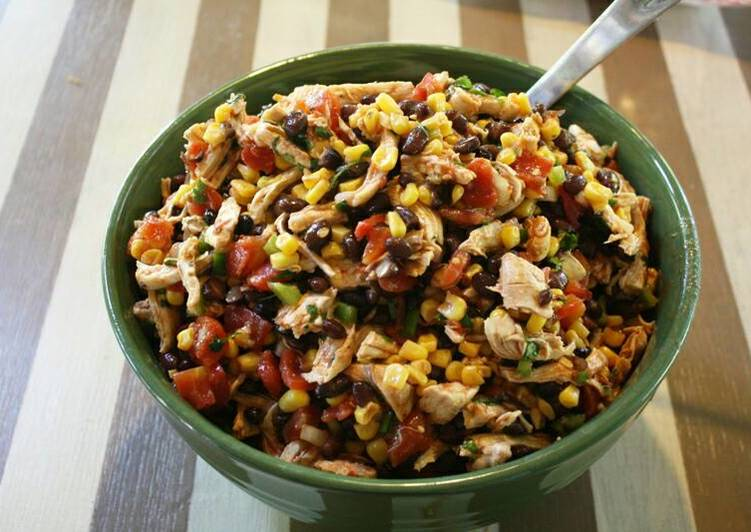 Black Bean Chicken Salad, Coconut Oil Is Really A Fantastic Product And Can Also Be Advantageous For Your Health