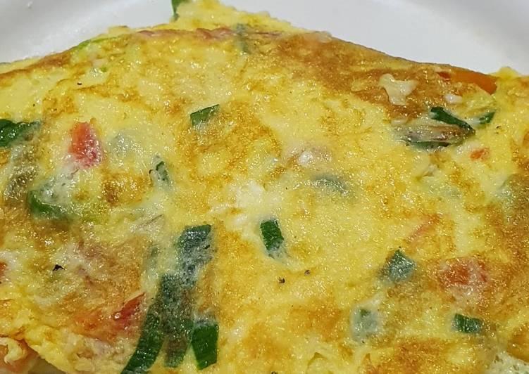 Resep Omelete Paling Joss