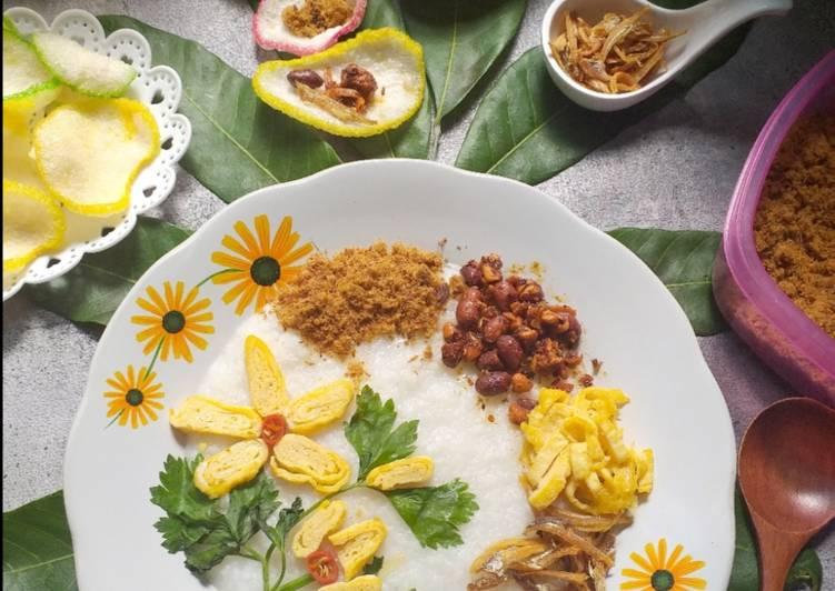 Bubur Nasi Prihatin Bertoping - resepipouler.com